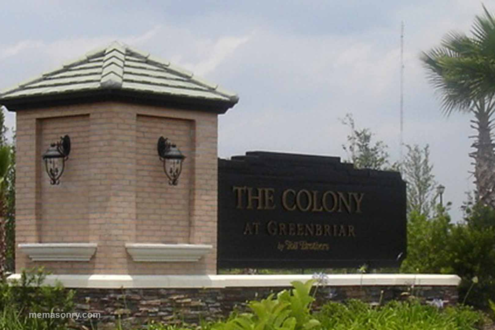 M&E Masonry & Sons Colony project