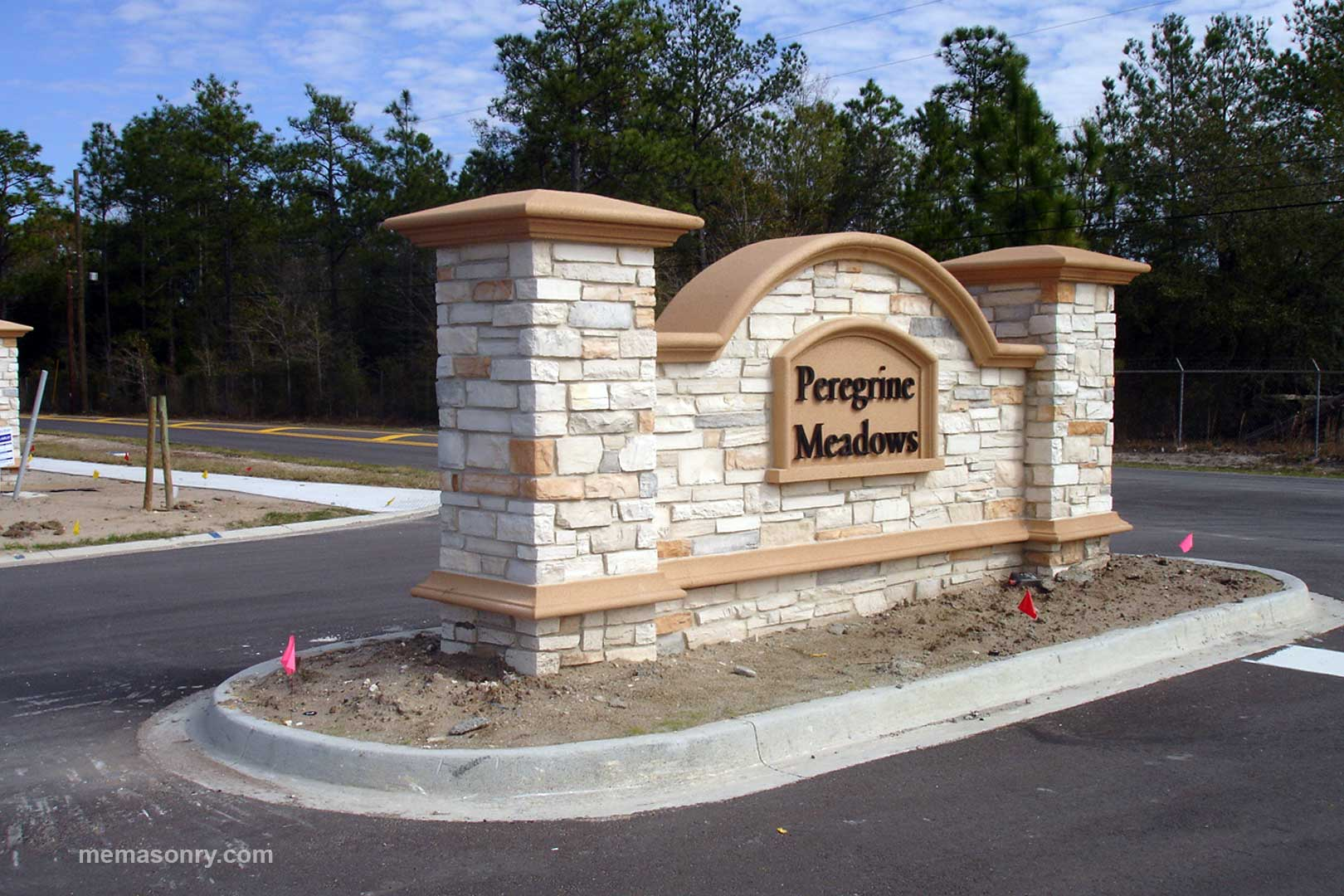 M&E Masonry & Sons Peregrine project